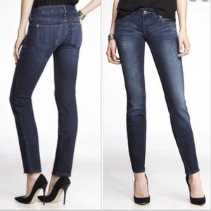 NWT Express Stella Low Rise Skinny Jeans